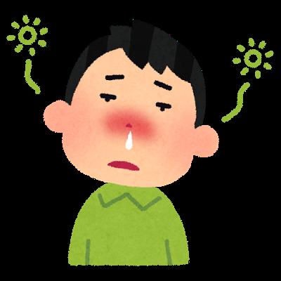 そろそろ花粉症の季節