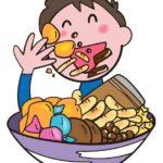 成長期 お菓子食べてる場合じゃない!