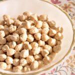 植物性タンパク質が豊富なひよこ豆=ガルバンゾー・・タンパク質が多い豆